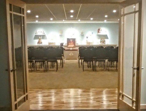 KMC Madison meditation room