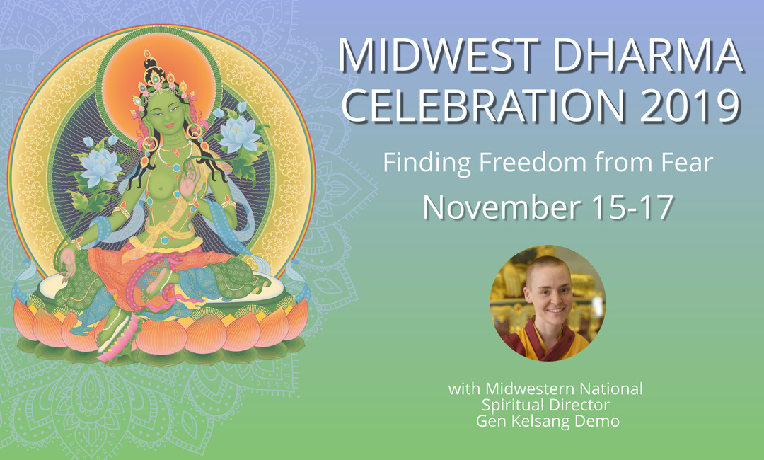 Midwest Dharma Celebration banner